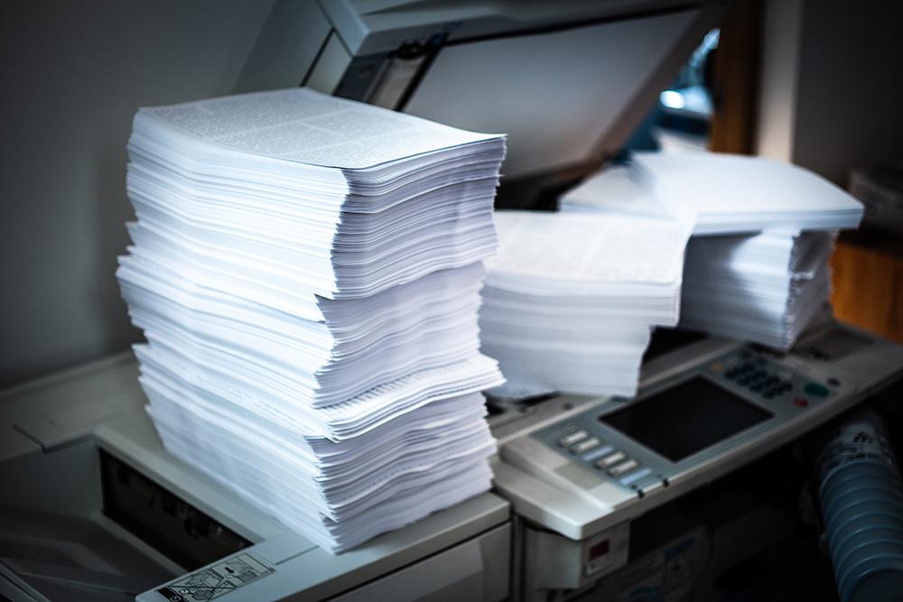 紙資料のデーター化 山田印刷